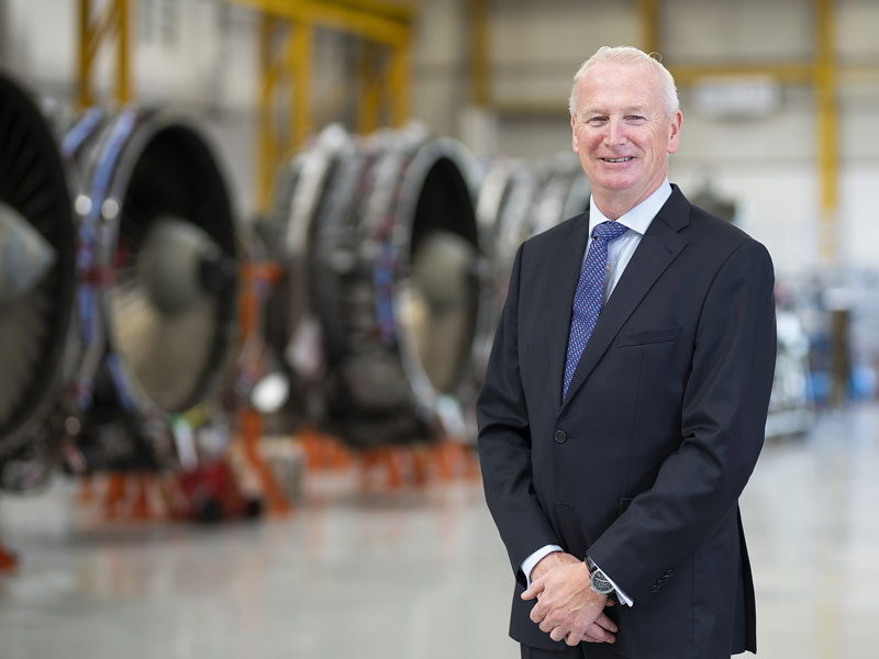 Congratulations to AerFin CEO Bob James on OBE award