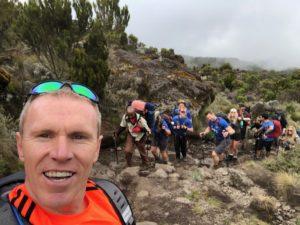 Kilimanjaro selfie