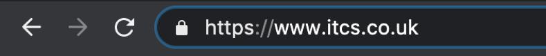 https ssl certificates itcs url